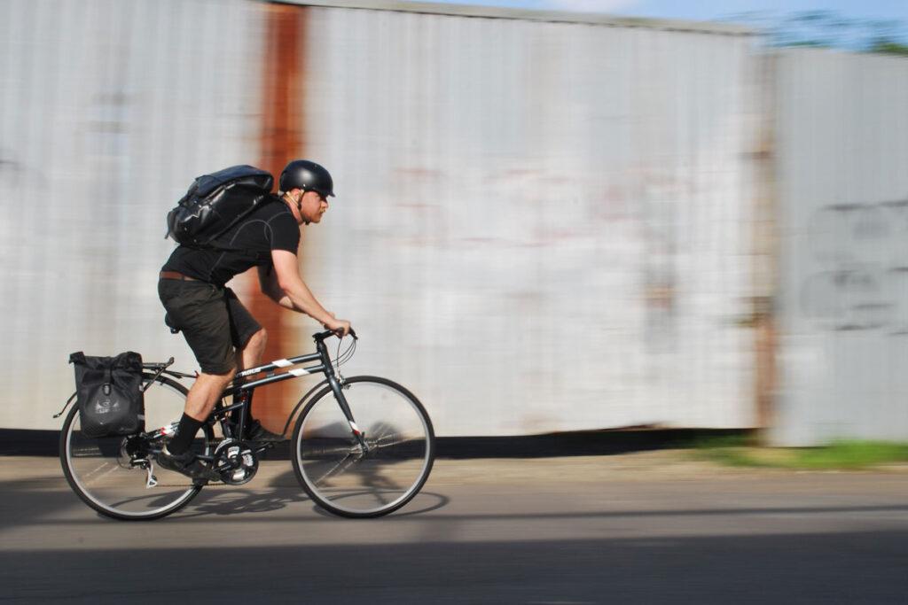 driving folding bike