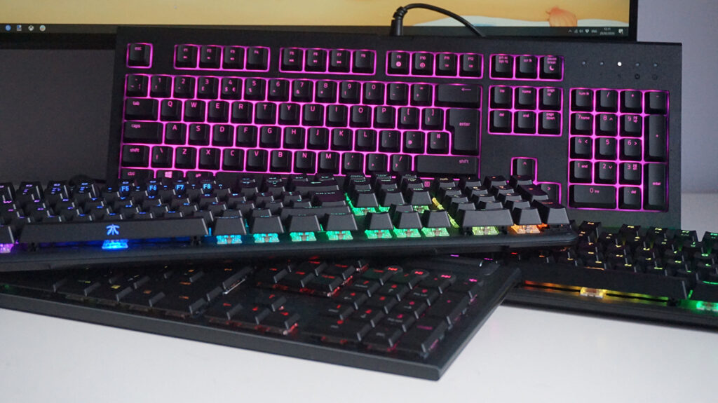 Connect two keyboards to one computer