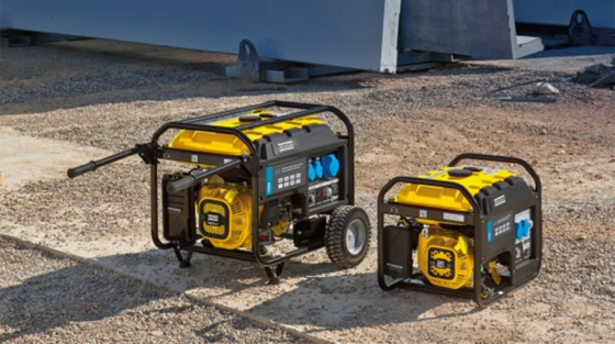 generator for construction site