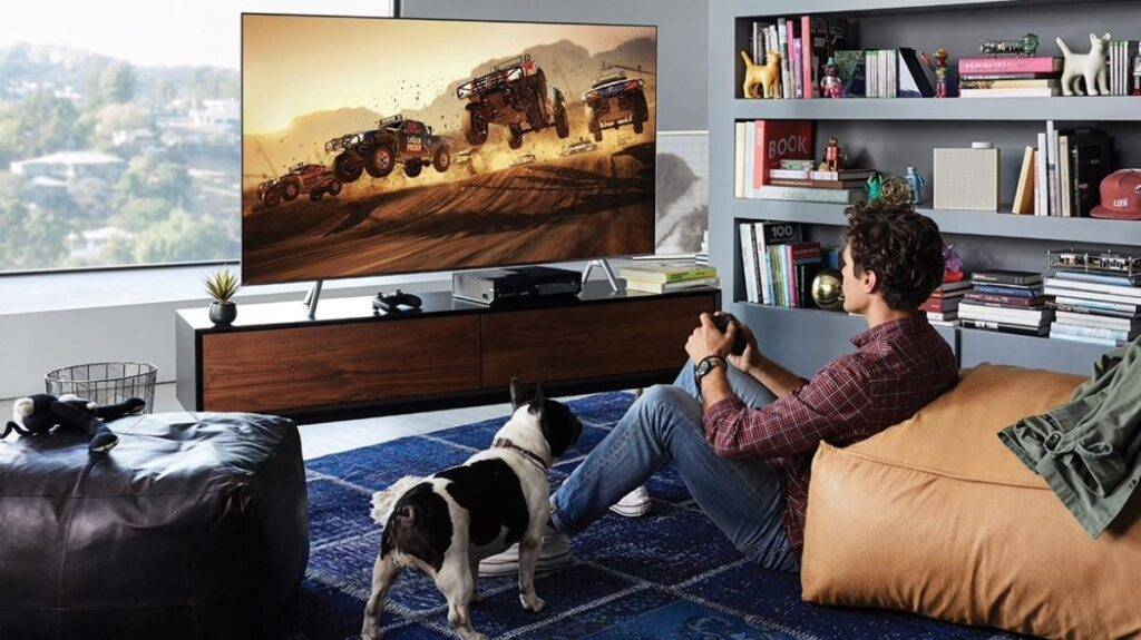 gaming on tv