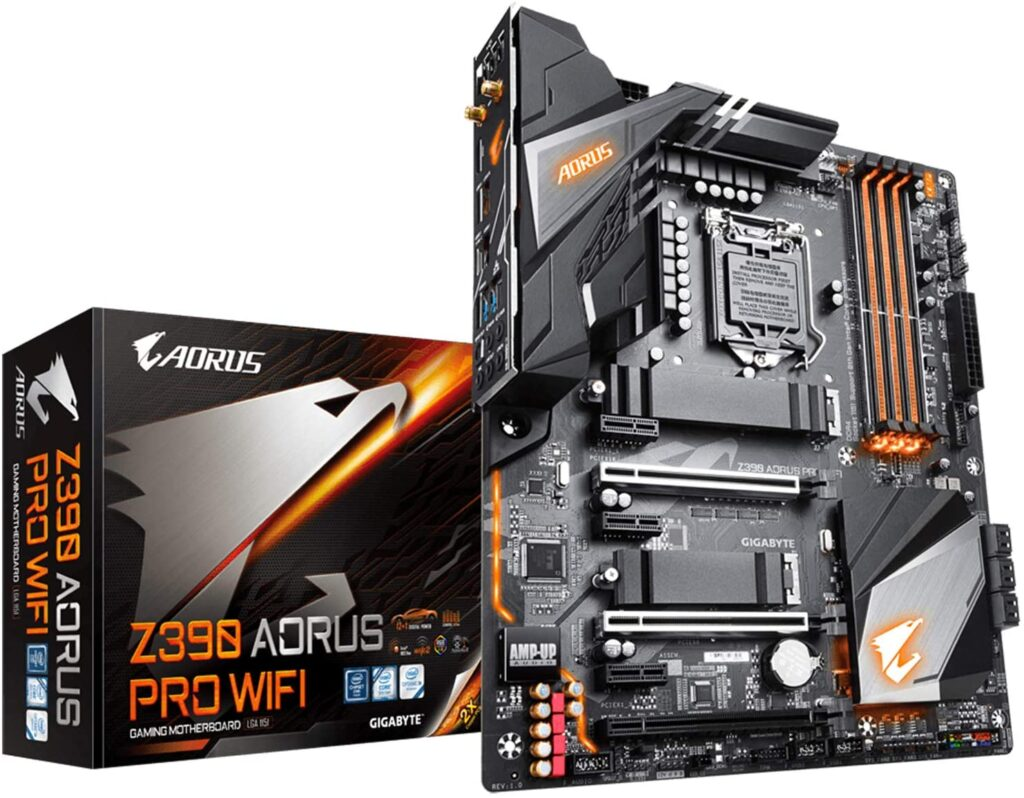 gaming motherboard with wifi