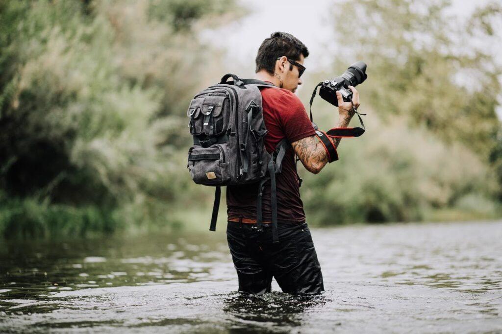 Mirrorless Camera Bag for Travel