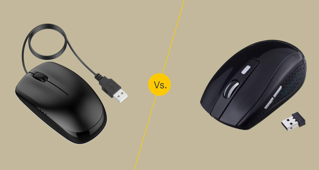 Wireless or Wired mouse