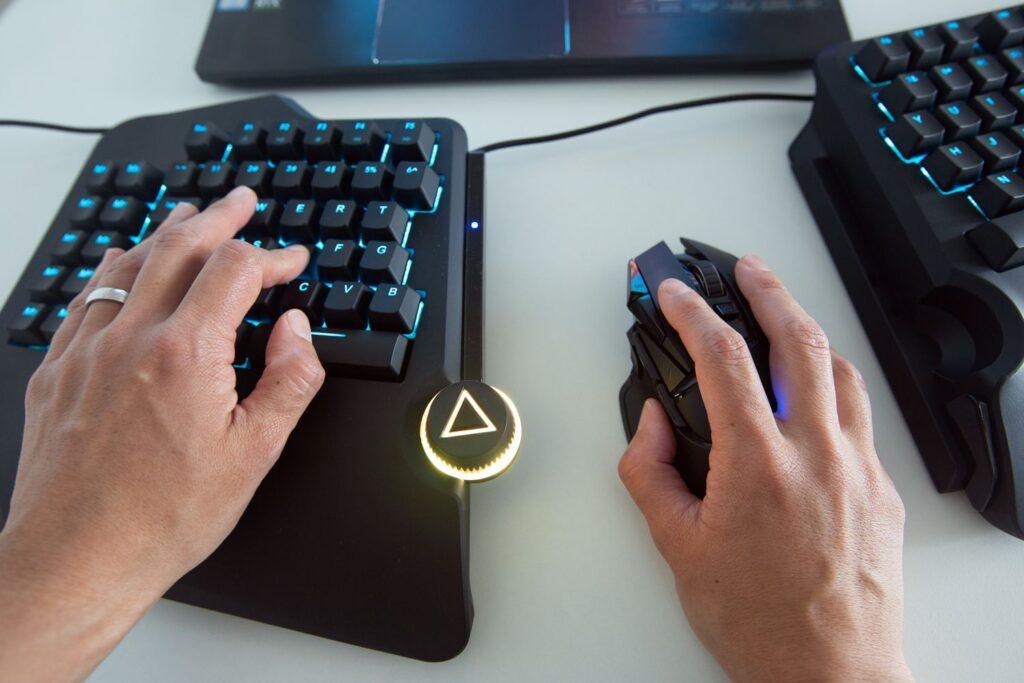 Ergonomic Gaming Keyboard