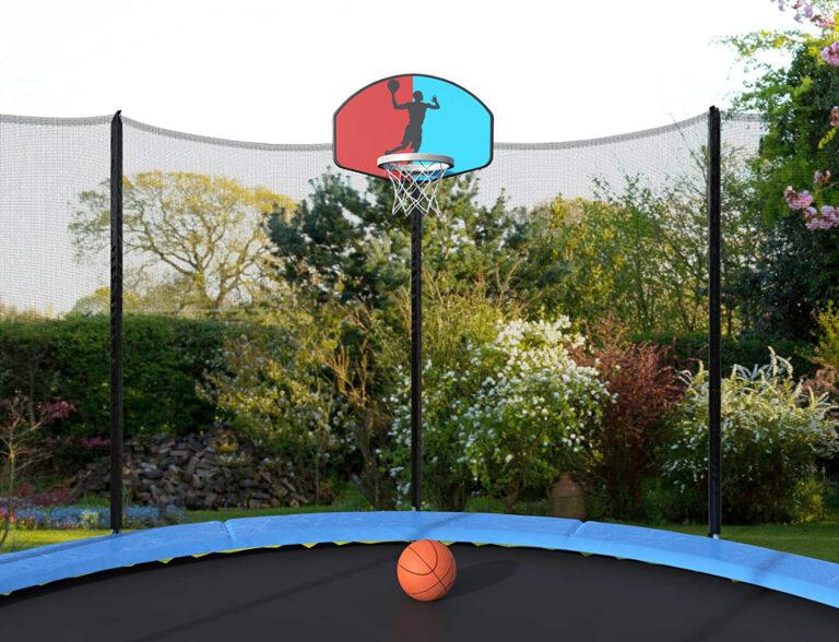 Trampolines With Basketball Hoop